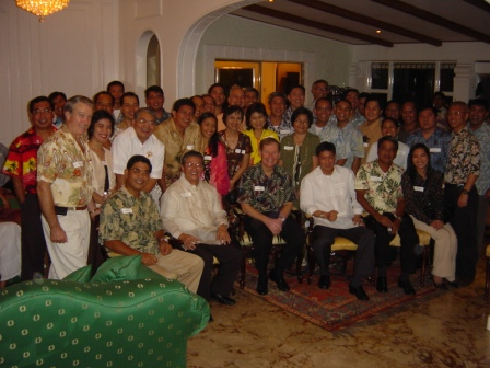 LTG (Ret.) Ed smith with the Philippines  Alumni Association and Distinguished Guests