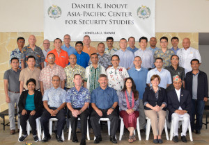 Twenty-nine senior leaders took part in the Nov. 16 to 20 Transnational Security Cooperation course (TSC 15-1) at the Daniel K. Inouye Asia-Pacific Center for Security Studies.