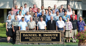 Command and Staff Colleges in the Asia-Pacific: Next Steps Towards a Framework for Cooperation group photo