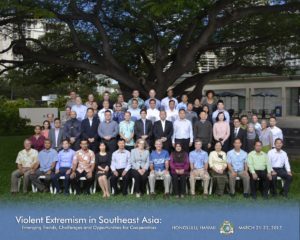 Violent Extremism the South East Asia group photo