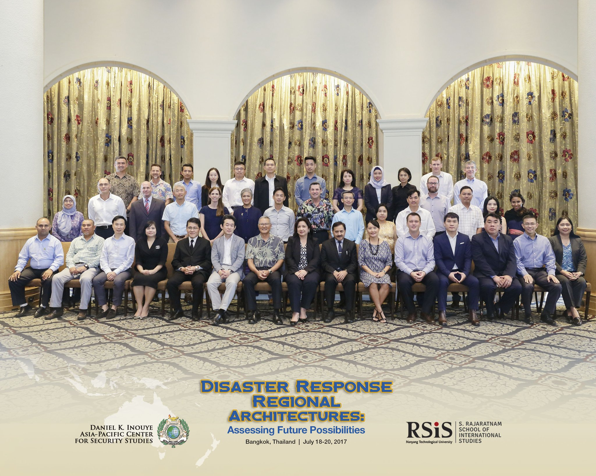 Disaster Response Workshop Group Photo