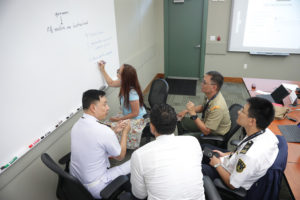 discussions and problem-solving