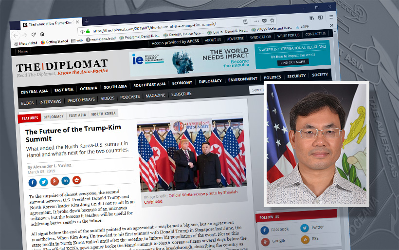 The diplomat article